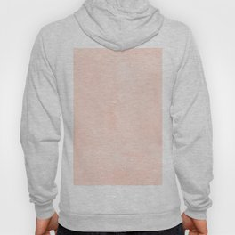 Simply Sweet Peach Coral Watercolor Hoody