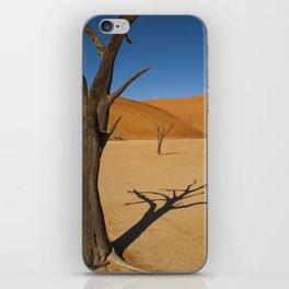 Sossusvlei Dead Pan iPhone Skin