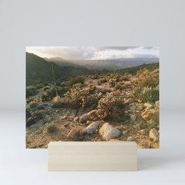 Borrego Desert Sunset Mini Art Print