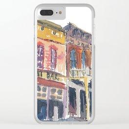 USA Impression Virginia City Main Street Nevada Clear iPhone Case