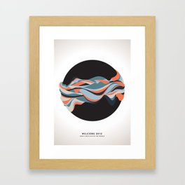 Happy end of the world Framed Art Print