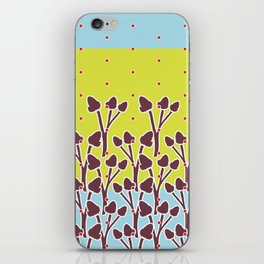 Flower Border iPhone Skin