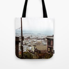 San Francisco Sunday Haze Tote Bag
