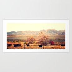 Idaho Farm Art Print