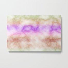 Rainbow marble texture 4 Metal Print