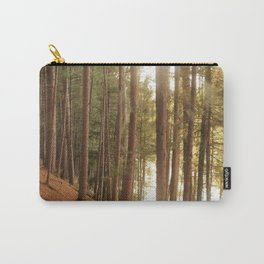 Red pine forest Carry-All Pouch