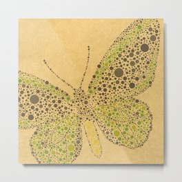 Dotti Butterflies from Charlotte Flowers Metal Print
