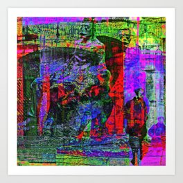 populated by lofty aspirations so they are legions Art Print