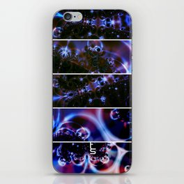 Astro Light Show (Five Panels Series) iPhone Skin