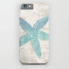 Aqua Starfish Slim Case iPhone 6