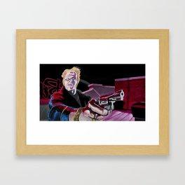 Biff Framed Art Print
