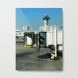 Jetway Metal Print