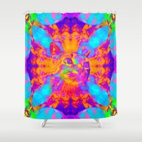 literary Shower Curtains featuring Briah-Sir Parker  by Sir P & Lady J
