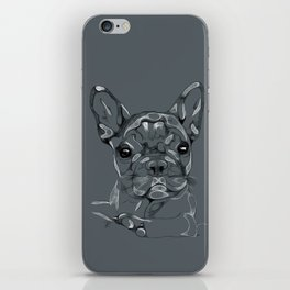 Sketchy Frenchie iPhone Skin