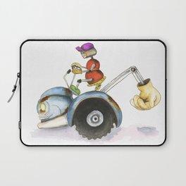 Farmer Robot  Laptop Sleeve