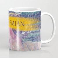 bohemian Mugs featuring Bohemian by PixelFarmer