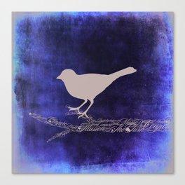 Magic Bird Canvas Print