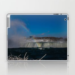 rainbow at the edge Laptop & iPad Skin