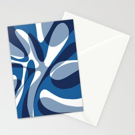 Deep Sea Wave Stationery Cards