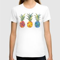 pineapples T-shirts featuring Pineapples by Cat Coquillette