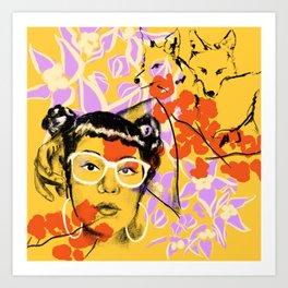 ELENA Art Print