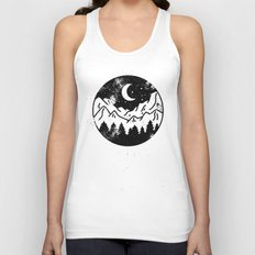 Night Unisex Tank Top