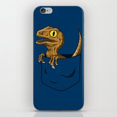 Pocket Raptor (Jurassic Park Velociraptor) iPhone & iPod Skin