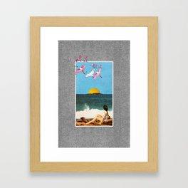 Beachfront, Part 2 Framed Art Print