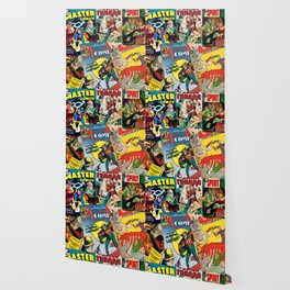 Comics Collage Wallpaper