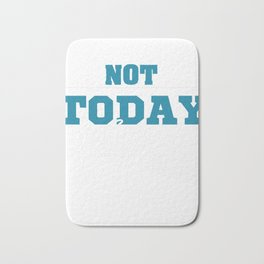 Stay positive optimist an blessed as you fight evil with this simple yet fantastic tee! Great gift!  Bath Mat