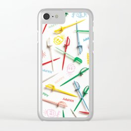 HAPPY HOUR Clear iPhone Case