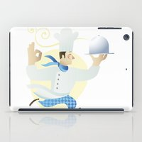 chef iPad Cases featuring Chef by Dues Creatius