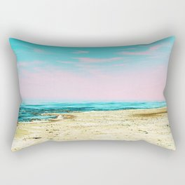 The Beach #society6 #decor #buyart Rectangular Pillow