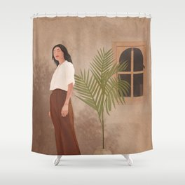 Comfort of Warmth I Shower Curtain