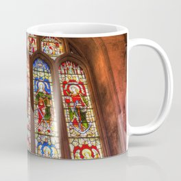 Stained Glass Abbey Window Coffee Mug