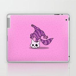 Chesire skull cat Laptop & iPad Skin