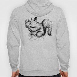 Squirrel Rhinocerous Hoody