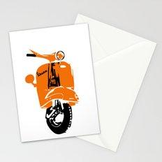 Vespa Scooter Print Stationery Cards