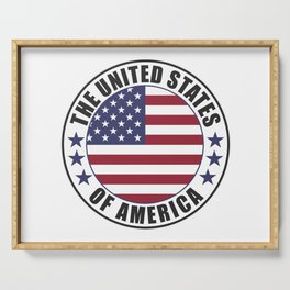 The United States of America - USA Serving Tray