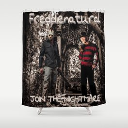 Freddienatural Shower Curtain