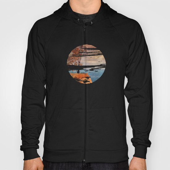 Autumn by the sea Hoody