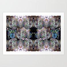 Blending modes 3 Art Print