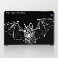 vagina iPad Cases featuring Batgina on black by oyasumikisi