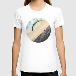 Skydive Gravity - Geometric Photography T-shirt
