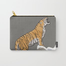 The Wild Ones: Siberian Tiger (illustration) Carry-All Pouch