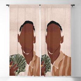 I am a Rich Man Blackout Curtain