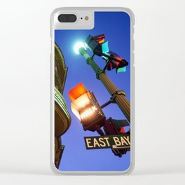 East Bay Lights Clear iPhone Case