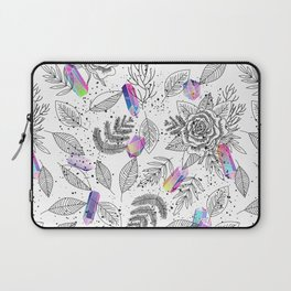Roses and Crystals Laptop Sleeve