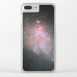 Twinkling Stars Clear iPhone Case