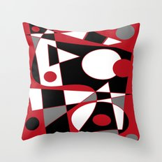 Abstract #185 Throw Pillow